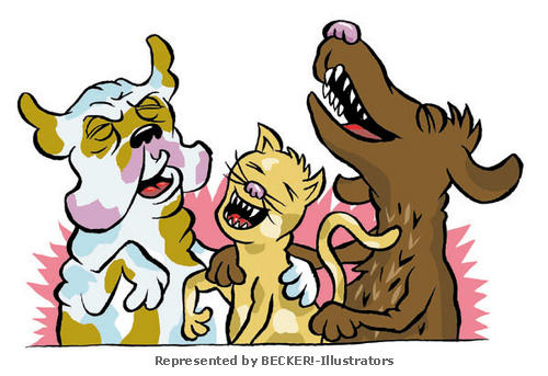 Lachhunde.jpg von Calle Claus