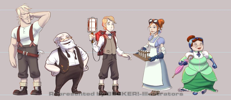 2011_1116_Main Characters korrektur von Christian Scharfenberg