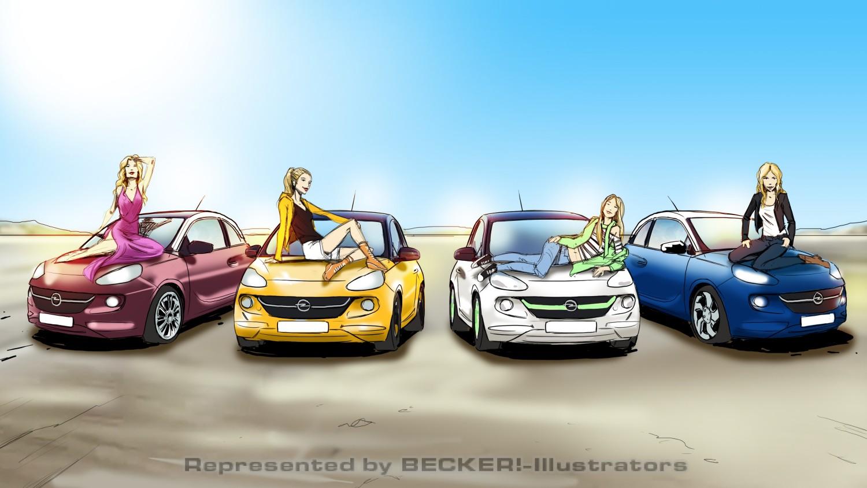 Opel Adam 1 von Christian Scharfenberg