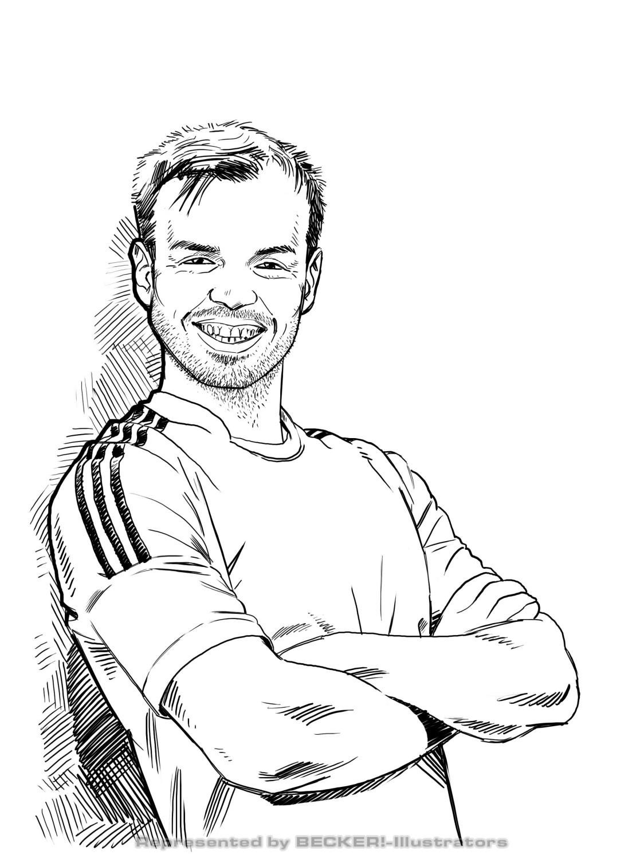 Fussball von Christian Scharfenberg