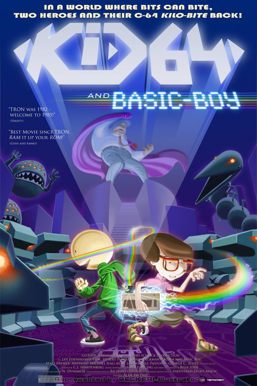 Kid64 and Basic Boy_poster_kleinRGB von Christian Scharfenberg