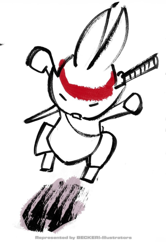 asianstyle_rabbit2 von Christian Scharfenberg