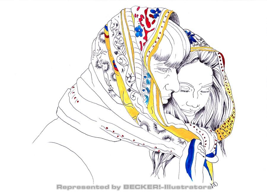 PaarSchal von Mithra Daryabegi