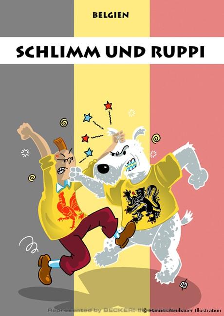 Schlimm und Ruppi von Hannes Neubauer