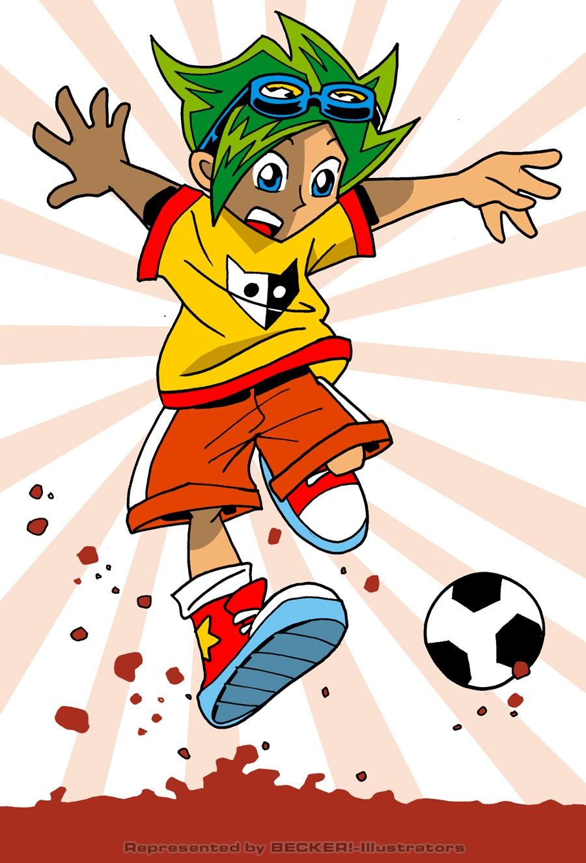 manga_soccer von Hannes Neubauer
