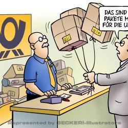 Gas-Pakete von Harm Bengen