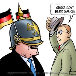 Gauck-Haube von Harm Bengen