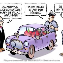 Schwarzer-Steuer von Harm Bengen