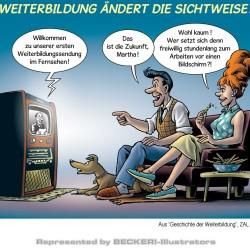 karikatur_weiterbildung_11_fifties von Harald Juch