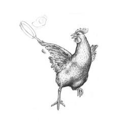 Huhn von Johann Brandstetter