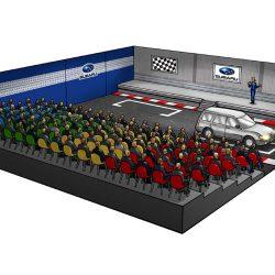 Event Visualisierung für Autohersteller von Martin Schlierkamp