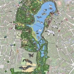 Harburger_Stadtpark_Wimmelbild_Wittek von Wittek