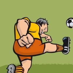 Fußballer von Jo Bee