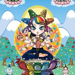 Die Göttin Maya von Emiko Takano