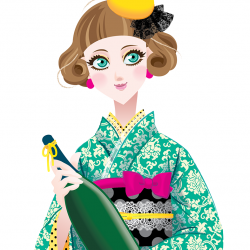 Japanischer Reiswein von Emiko Takano