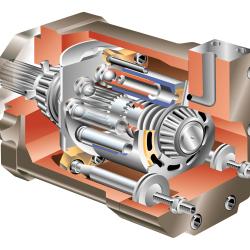 Hydraulic Motor von Arthur Phillips