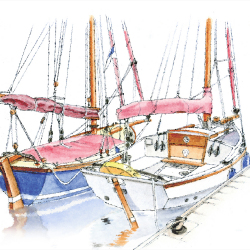 2 Boats von Arthur Phillips