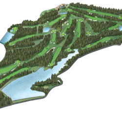 Hirono Golf Course von Arthur Phillips