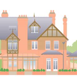 Jones House von Arthur Phillips