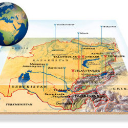 Map-Perspective von Arthur Phillips