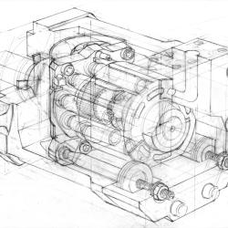 Pump pencil von Arthur Phillips