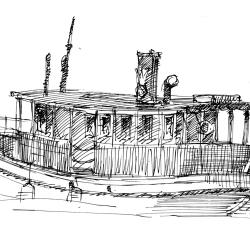 Stockholm Boat von Arthur Phillips