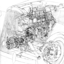 Traction Sketch von Arthur Phillips