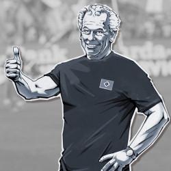 Hermann RiegerFussball Hamburger SV von Christian Scharfenberg