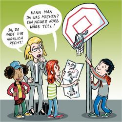 Basket-Korb von Calle Claus