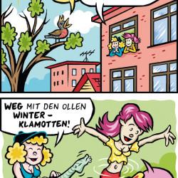 Schanzen-Babes_Frühling von Calle Claus
