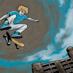 Skater von Stefani Kampmann