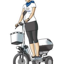 Hyundai_E-bike_promoterin von Christian Scharfenberg