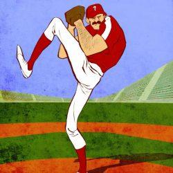 baseballer01 von Arne S. Reismueller