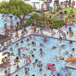Sommer-Freibad von Uwe Klindworth
