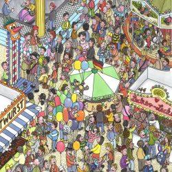 Volksfest von Uwe Klindworth