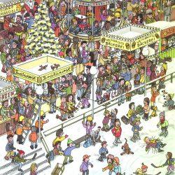 Weihnachtsmarkt von Uwe Klindworth