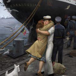 homecoming_1945 von Kristina Gehrmann