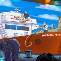 sparkassentag 16zu9 Format für Scharfenberg-Illustration SLIDESHOW_ von Christian Scharfenberg